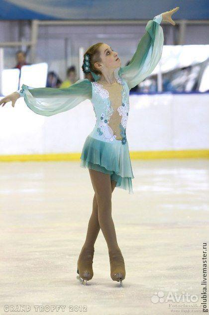 Платье для выступления фигурное катание