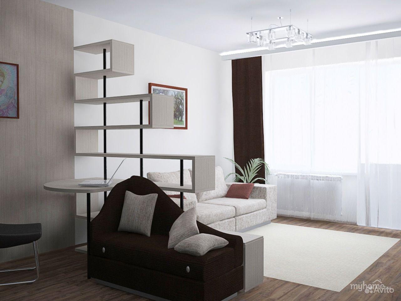 Дизайн однокомнатной квартиры с ребенком 17 кв