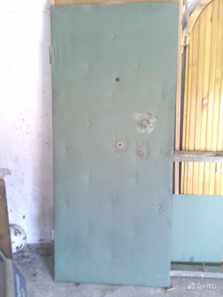 железная дверь ширина 80