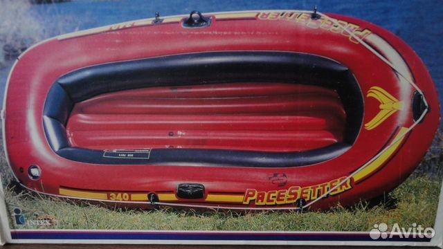 резиновая 2-х местная лодка в спб