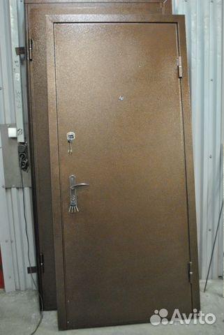металлические двери с порошковым покрытием цены