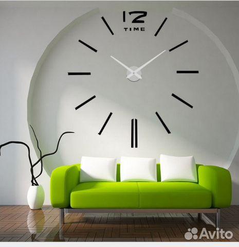3 д часы на стену