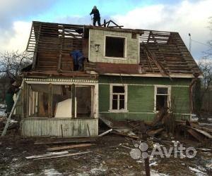 Снос домов с вывозом купить на Вуёк.ру - фотография № 1