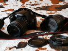 Фотоаппарат Canon D1100 + Объектив Tamron AF 18-20