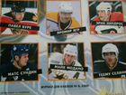 Журнал наклеек NHL хоккей 1999-2000