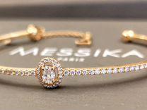 Messika Glamazone золотой браслет с бриллиантами
