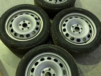 Комплект колёс 205/55 r16 зима