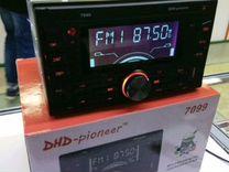 2-Дин Pioneer 7099,USB,Блютуз,радио,Новые