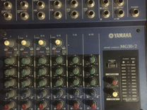 Yamaha mg10/2 микшерный пульт