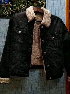 Утепленнная джинсовая куртка