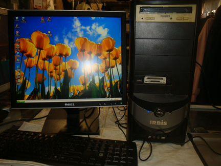 Системный пк irbis монитор 17 - комплект объявление продам