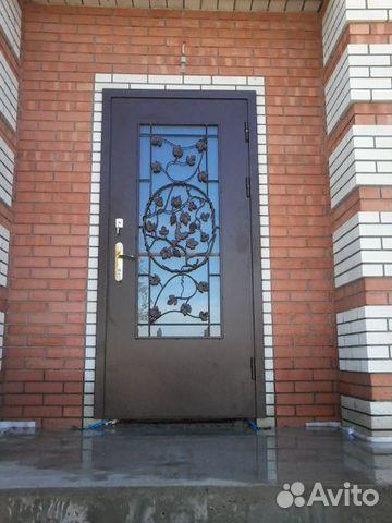 двери входные полуторные со стеклом москва