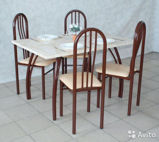 Столы и стулья для кафе от производителя