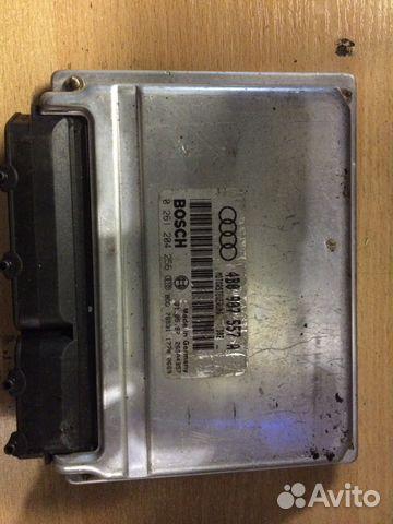 Блок управления двигателем Ауди 4B0907557A— фотография №1
