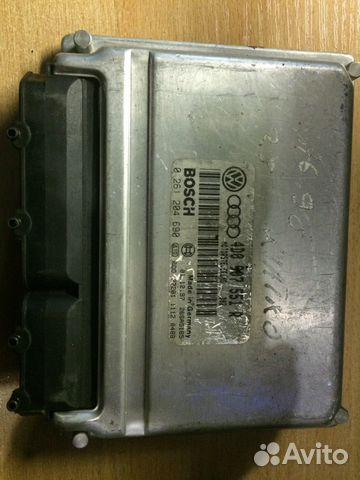 Блок управления двигателем Ауди 4D0907551R— фотография №1