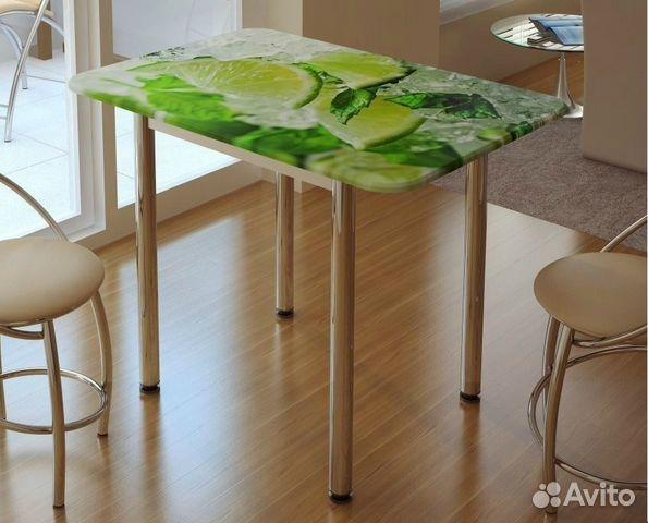 Обеденный стол лайм