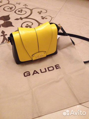 ea2534550242 Новая сумка Gaude Milano купить в Москве на Avito — Объявления на ...
