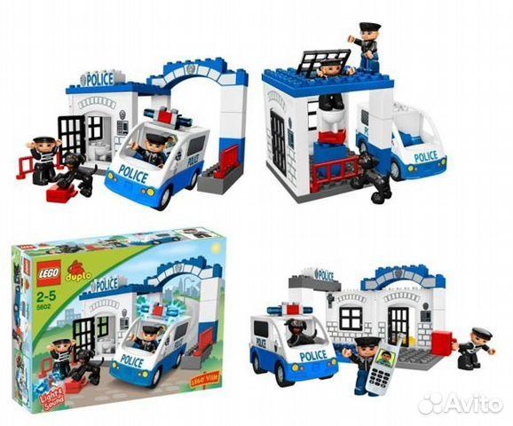 Инструкция Лего Полицейский Участок