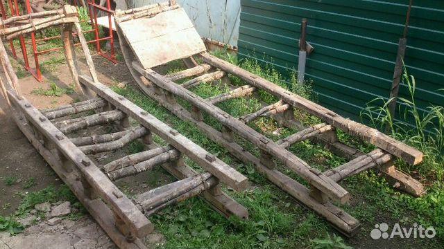деревянные сани купить в свердловской области на Avito объявления