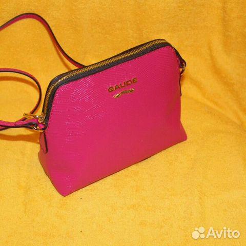 ae01b7f51d30 Новая маленькая сумочка Gaude milano фуксия купить в Москве на Avito ...