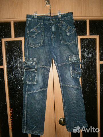 Утепленные джинсы в отличном состоянии 89193233610 купить 1