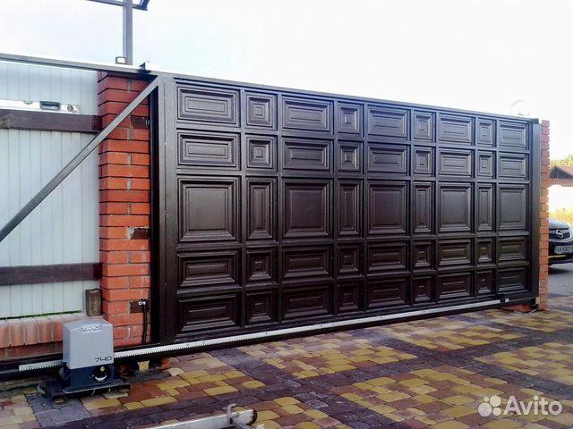 откатные ворота и калитки в киевской области