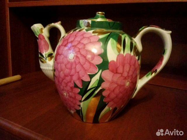 c58dcc303732 Большой винтажный ретро чайник Дулево   Festima.Ru - Мониторинг ...