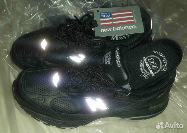 Кроссовки New Balance 993 Made in USA черная кожа   Festima.Ru ... 5d112c8ba46
