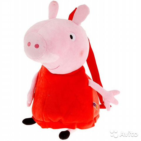 Свинка пеппа рюкзак купить рюкзак redpoint daypack 23 купить