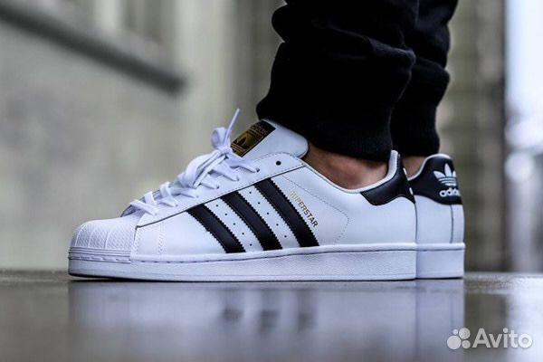 Adidas Superstar кеды кожа Адидас суперстар  31e24f042af71