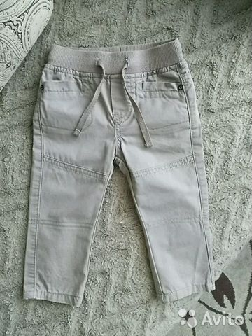 Штаны для мальчика, размер 74 89069454870 купить 1