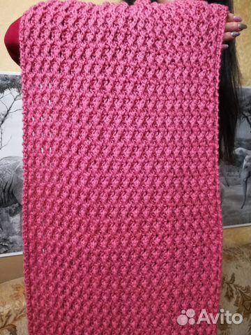 Снуд шарф Розовый