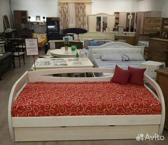 b9488cecc6ad5 Детская кровать-диван в цвете Белая морилка купить в Санкт ...