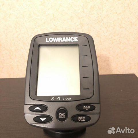 Характеристики и описание Эхолот Lowrance X-4 Pro 83/200 kHz W/XDCR
