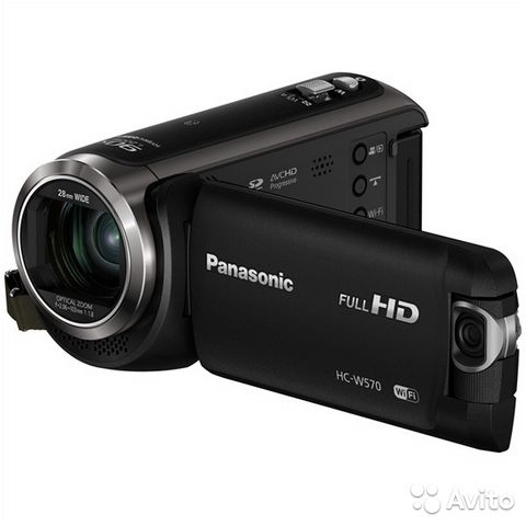 Panasonic HC-W570 Black