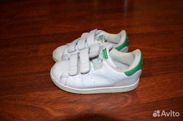 69e3b4c4 Кроссовки Adidas (натур. кожа) размер 27 купить в Мурманской области ...