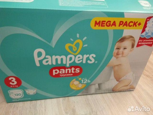 Трусики Pampers pants, 3 размер   Festima.Ru - Мониторинг объявлений ec96151741b