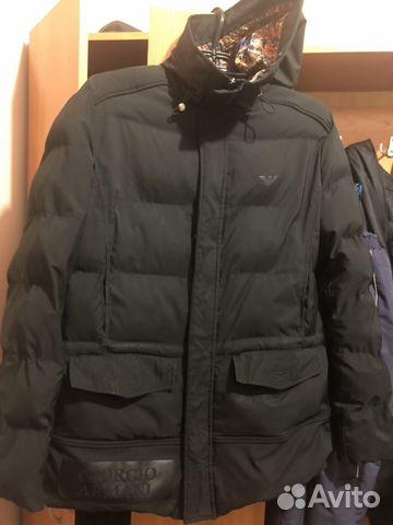 5ff7f3d38fe7 Куртка зимняя с капюшоном armani   Festima.Ru - Мониторинг объявлений