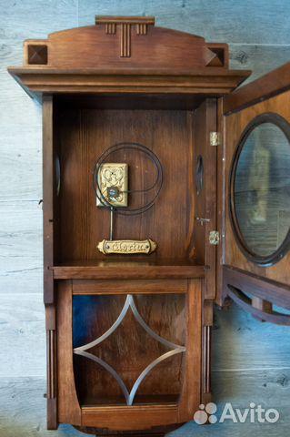 Часы настенные Gustav Becker, старинные. 1912 г купить 7