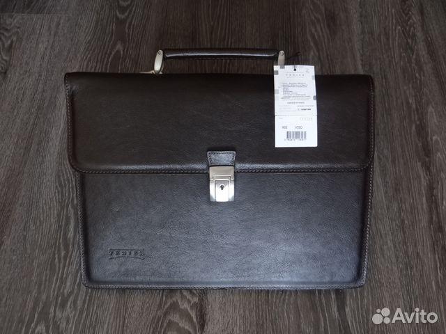 0ab45e40ecdd Новый мужской деловой портфель texier (Франция) купить в Москве на ...