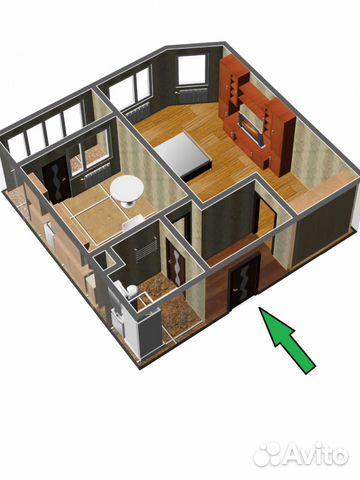 Продается однокомнатная квартира за 7 400 000 рублей. Москва г, Сосенское п, Коммунарка п, Лазурная ул, 14.