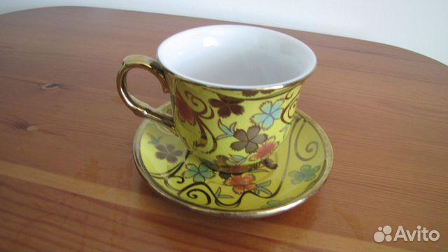 Красивая чайная пара  89217300160 купить 3