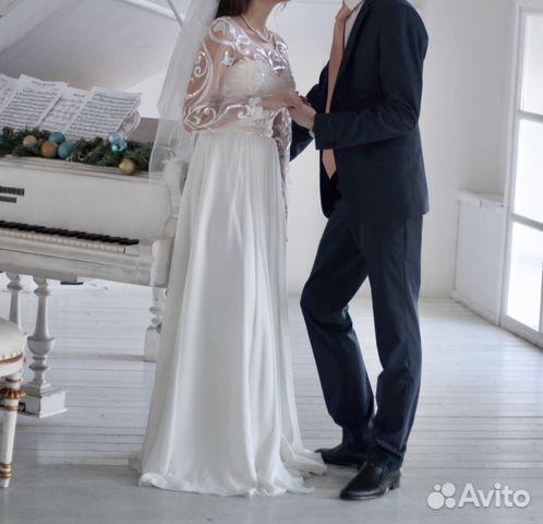 Свадебное платье Ulana, А-Силуэт 89524482466 купить 2