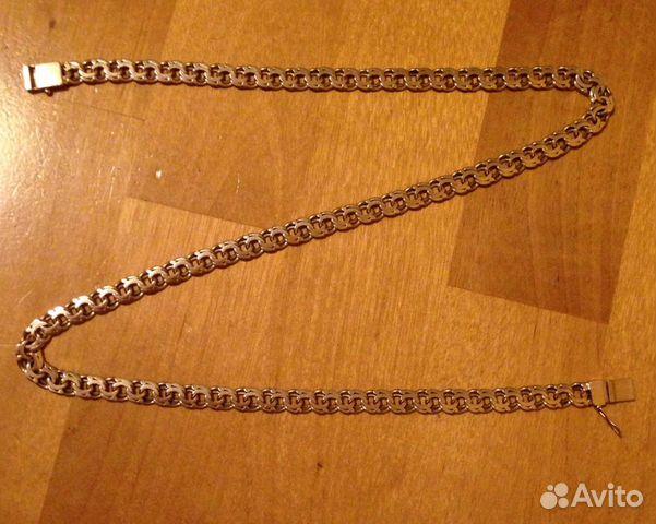 золотая цепь плетение бисмарк фото