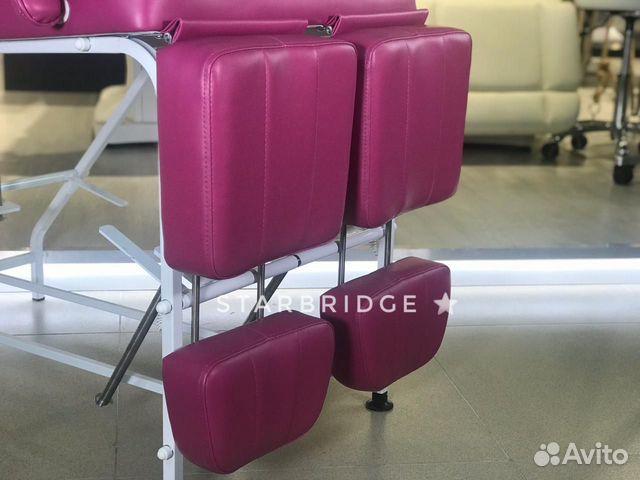 Кресло педикюрное цв. розовый 89282266618 купить 6
