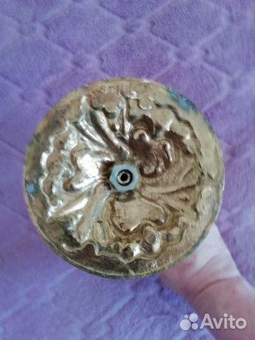 Подсвечник Цветок бронза h-23 см  89125722931 купить 3