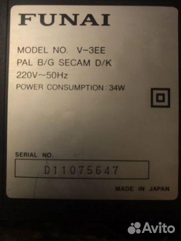 Видеомагнитофон funal. Made in Japan  89272209208 купить 4