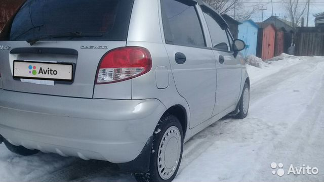 Daewoo Matiz, 2012 89115603931 купить 9