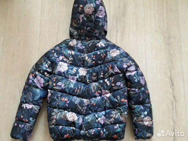 Куртка утепленная для девочки 89176687264 купить 2