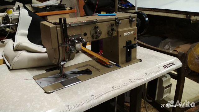 Швейная машинка двух игольная шагайка Necchi
